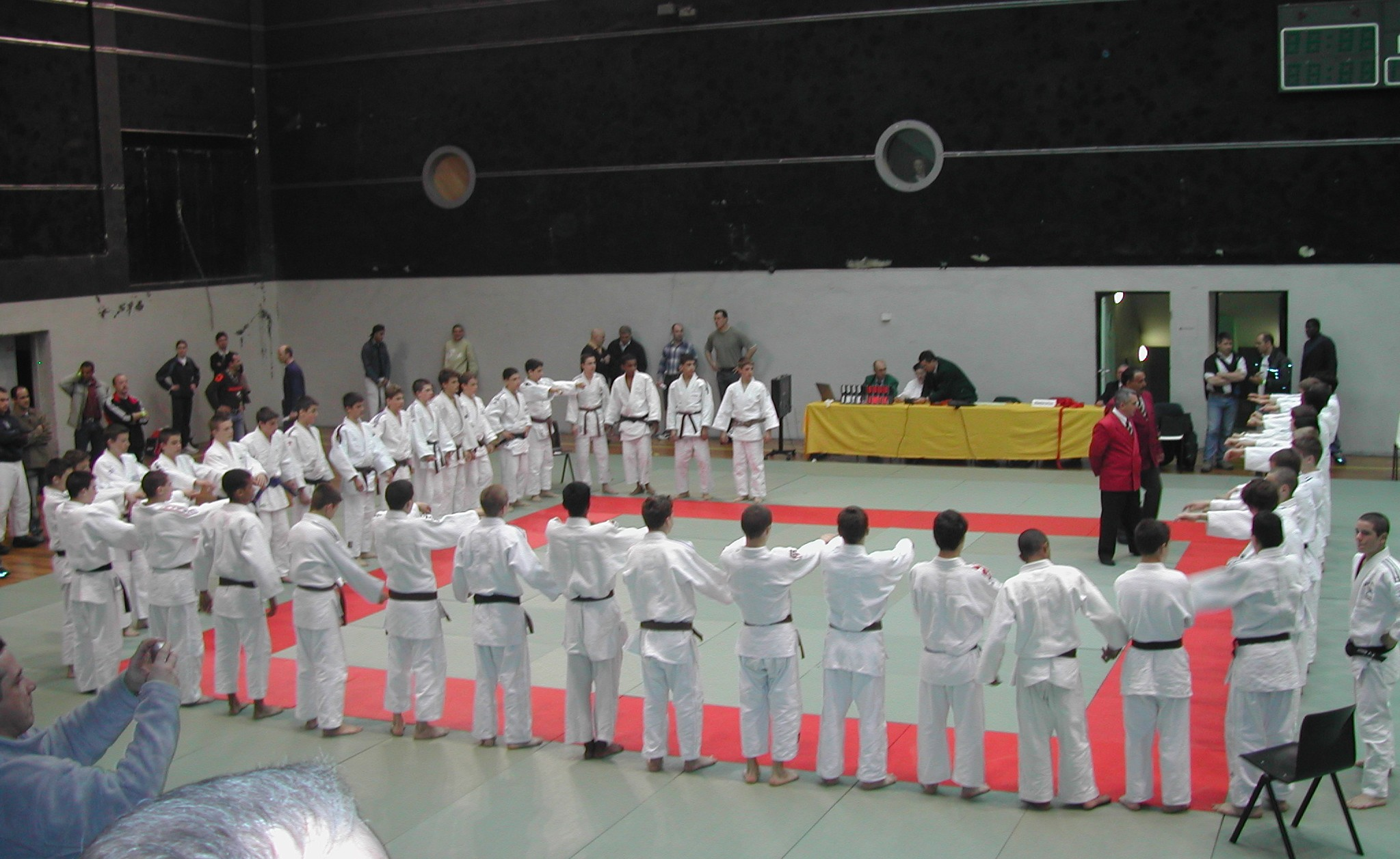 France judo cadets Coubertin 2004