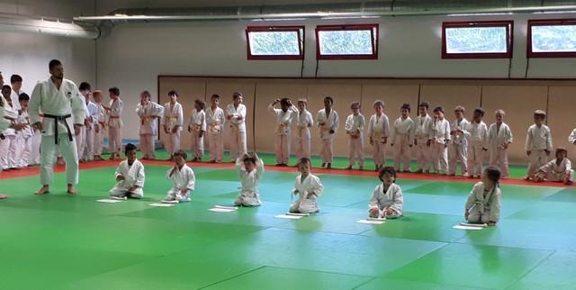 remise des ceintures_US Séné judo