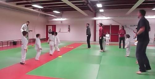Tous sur le tatami-Adrien