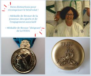 Médailles de Bronze du bénévolat